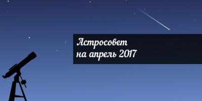 Астросовет для всех знаков Зодиака на апрель 2017